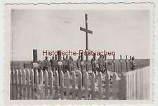 (F2092) Orig. Foto 2.WK, Soldatengräber, Bestattung, 1940er