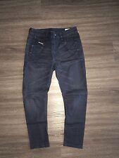DIESEL Fayza Tapered Leg Baggy Relaxed Boyfriend Jogger Denim Jeans 25 New $295