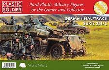 The Plastic Soldier Company 1/72nd German Sdkfz 251 Ausf C Half track WW2V20003