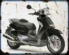 Aprilia Scarabeo 500 06 1 A4 Metal Sign Motorbike Vintage Aged