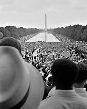 MARCH ON WASHINGTON CIVIL RIGHTS MOVEMENT 8X10 PHOTO 1963