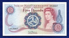 More details for isle of man, c1972 five pounds, £5 banknote, high grade & scarce (ref. b1011)