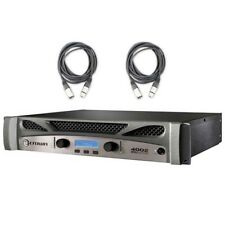 Crown XTI 4002 Series 2 Channel 1600W Stereo Amplifier with XLR Cables