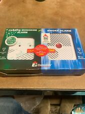 CARBON MONOXIDE ALARM AND SMOKE DETECTOR ALARM DOUBLE PACK NEW