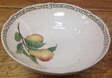 "Noritake Royal Orchard Fruit Serving Bowl 8"" CRACKED Vines Primachina Plums 9416"