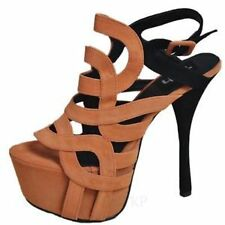 Women's Stiletto Heel Sandals/Beach Shoes without Pattern