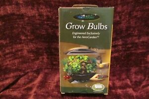Aero Garden Grow Bulbs Model #100629 2 Pack New