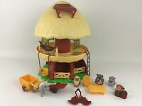 Ewok Family Tree Hut Complete Star Wars Return of the Jedi Vintage 1984 Kenner