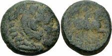 Kassander Makedonien Æ17 306-297 Herakles Löwenskalp Reiter SNG Alpha Bank 908/9