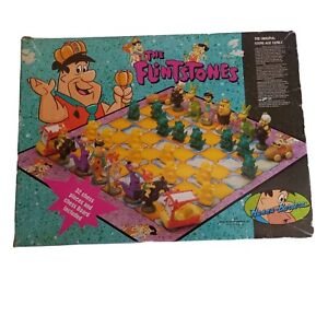 The Flintstones Chess Set Hanna-Barbera productions, Inc. Retro 1995.