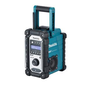 Makita DMR110 DAB/DAB+ 7.2v-18v Blue Jobsite Radio (Bare Unit)