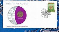 Coins of All Nations Vatican City 20 Lire 1975 UNC