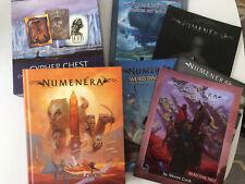 Numenera RPG Bundle: Rulebook Cypher Chest Devil's Spine Starter Set Weird