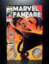 COMICS: Marvel Fanfare #37 (1980s), Thor/Fantastic Four - RARE (spiderman)