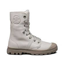 Palladium Pallabrouse Baggy  BOOTS WPS in Grout/Silver Mink SIZE  9.5