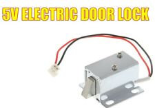 Mini 5V DC Cabinet Door Drawer Electric Lock Assembly Solenoid Arduino, ESP, Pi