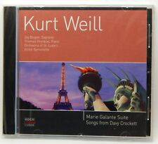 Kurt Weill: Marie Galante; Davy Crockett ~ NEW CD (Jul-2000, Koch Schwann)