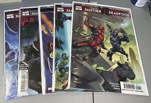 Black Panther Vs. Deadpool #1-5 Marvel 1 2 3 4 5 Complete Full Run