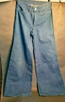 Original 1960s Vintage Women's Bell Bottom Jeans  (these are the real deal)