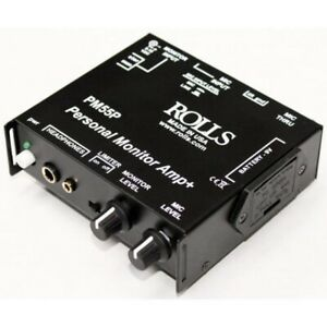 Rolls PM55P Personal Monitor System with Built in switchable Optical Limiter
