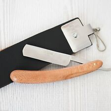 Mo Bro's Straight Cut Throat Razor and Leather Sharpening Strop