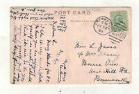 EDW.VII. 1906. CREWKERNE  DUPLEX POSTMARK.PLEASE SEE PICTURE