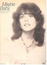 "SUSIE ALLANSON ""MAYBE BABY"" PIANO/VOCAL/GUITAR/CHORDS SHEET MUSIC-RARE-1978-NEW!"