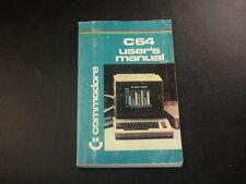 1984 Commodore C64 Users Manual