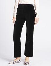Flared Velvet High Trousers for Women
