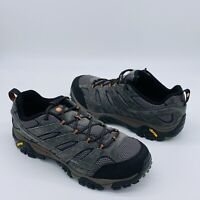 MERRELL Moab 2 Vent Low Hiking Shoes J06015W Mens Size 14 Wide Beluga Gray NEW