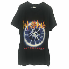"""Def Leppard Adrenalize 1993 XL Vintage Original T Shirt Canadian Tour """"Unworn"""""""