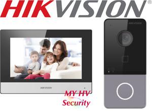 Hikvision Video Intercom Kit DS-KIS603-P Doorbell Camera WiFi IP Wireless App
