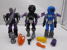 Vintage 1983 Remco Mantech Space Monster Robot Warriors Action Figure & Part LOT