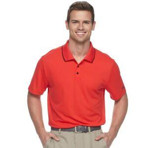 FILA Men's Polo Shirt SPORT GOLF Pro Core Performance Short Sleeve Wicking DRY