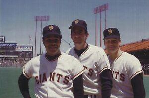 1970 Juan Marichal Gaylord Perry HOF Jerry Johnson San Francisco Giants Photo