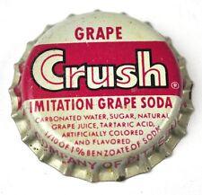 Crush imitación Grape soda tapita estados unidos Bottle Cap corcho juntas