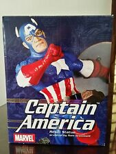 "Captain America 8"" Statue Diamond Select Toys Marvel Avengers"