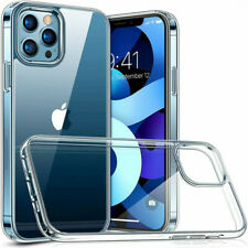 For iPhone 12/11 Pro Max Mini Crystal TPU Soft Slim Clear Protective Case Cover