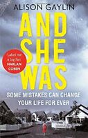 And She Was (Brenna Spector Book 1) By Alison Gaylin