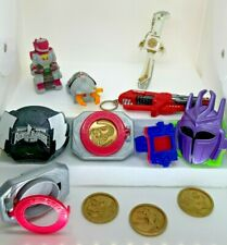 Power Rangers Mighty Morphin' Accessories / Key Chains / Happy Meal Toys RARE