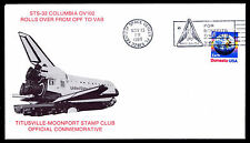 1989 STS-32 COLUMBIA OV102 ROLLS OVER FROM OPF TO VAB - US#2277 (ESP #3080)