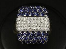 Traumhafter Saphir Brillant Ring ca. 5,62ct 17,9g 750/- Gelbgold & Weißgold
