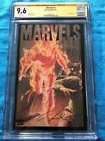 Marvels #1 - Marvel - CGC SS 9.6 NM+ - Signed by Kurt Busiek