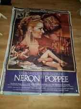 Affiche de cinéma LES AVENTURES SEXUELLES DE NERON ET POPPEE (120x160cm)