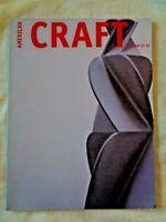 American Craft Magazine 2001 John Garrett Archie Bray Clare Verstegen Val Hector