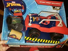 NEW Marvel SPIDER-MAN Quadricycle Quad Car Remote Control R/C Car NEW 4 Wheeler