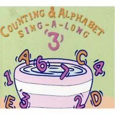COUNTING & ALPHABET SING-A-LONG '3' CD BRAND NEW ABC For Kids John Kane