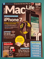 Mac Life iPhone 7 Der Ultimative Test 11/2016 ungelesen 1A abs.TOP
