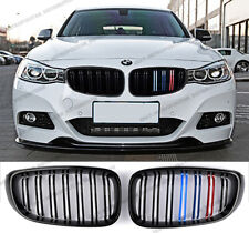 BMW 3 series GT Gran Turismo F34,M4 grille,double bar,Black+M POWER 3 tri colour
