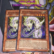 OCCASION Carte Yu Gi Oh CYBER DRAGON ZWEI ABPF-FR035 x 2 1ère édition